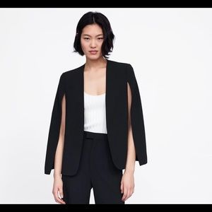 Zara Cape with slit